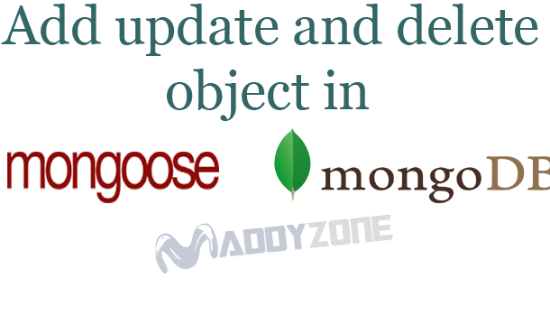 How to add update and delete object in Array Schema in Mongoose/MongoDB